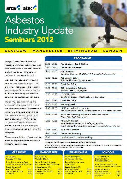 Asbestos Industry Update 2012