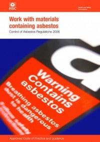 New Asbestos Approved Code of Practice still a work in process... 1